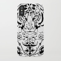 Tiger iPhone Case by Knm Designs