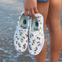 VANS Disney Minnie Mouse Classic Womens Slip-On Shoes | Sneakers