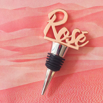 Rose Bottle Topper