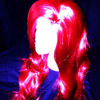 Adult Jessica Rabbit inspired Long Red, cosplay, Halloween, costume wig