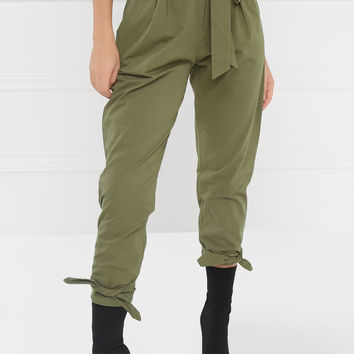 Good Karma Pants - Olive