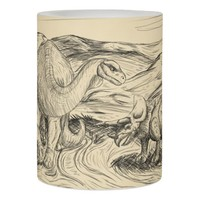 Classic Dinosaurs Flameless Candle