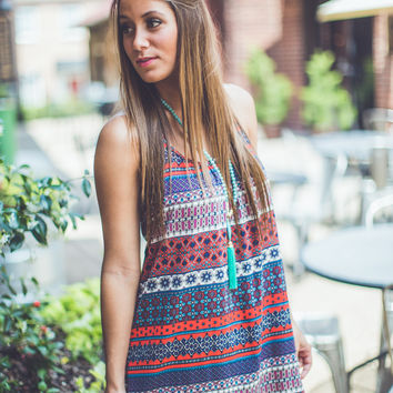 Mix Print Sundress in Multi