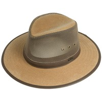 Outback Trading Safari West Hat - Oilskin Mesh (For Men and Women)