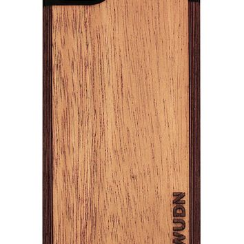 Ultra-Slim Wooden iPhone 8 Charging Battery Case