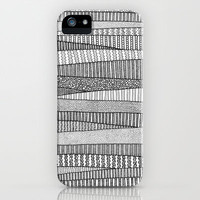 Fields in B&W iPhone Case by Anita Ivancenko | Society6