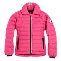 Youth Charlotte Quilted Jacket, Summit Pink, XS-XL - Canada Goose