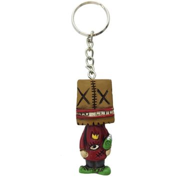 Boogily Collection - Paper Bag Head Key Chain
