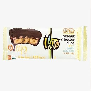 Theo Chocolate Milk Chocolate, Peanut Butter Cups (12x1.3 Oz)