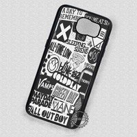 All Band Logo Collage - Samsung Galaxy S6 S5 S4 Note 5 Cases & Covers
