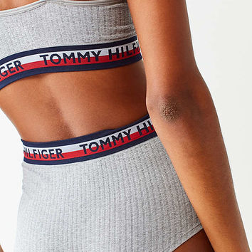 Tommy Hilfiger Seamless Ribbed High-Waisted Undie | Urban Outfitters