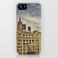 Water towers iPhone & iPod Case by Deniz Erçelebi