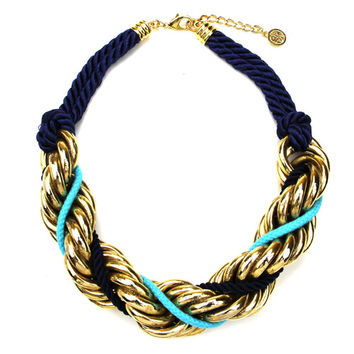 St. Tropez Chain Twist Necklace