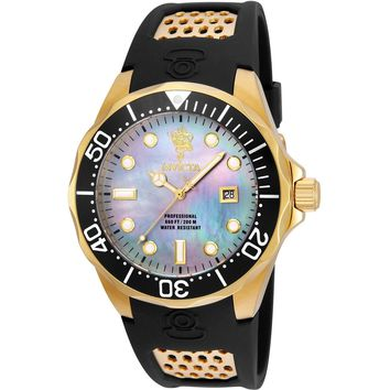 Invicta Men's 23878 Sea Base Quartz 3 Hand Platinum Dial Watch