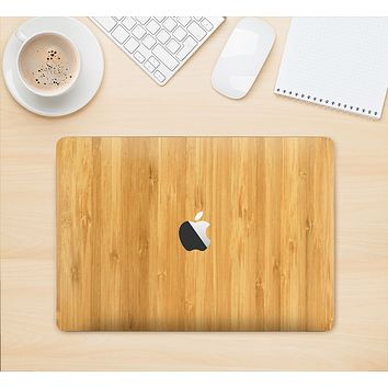 "The Light Bamboo Wood Skin Kit for the 12"" Apple MacBook"