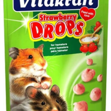 Strawberry Drops Hamster -  5.3 oz