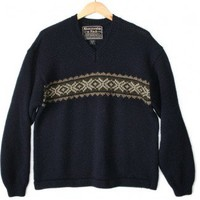 Shop Now! Ugly Sweaters: Abercrombie & Fitch Classic Wool Ugly Ski Sweater Men's Size XL $18 - The Ugly Sweater Shop
