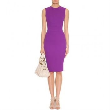 POSH GIRL  Body-Con Purple Passion Dress