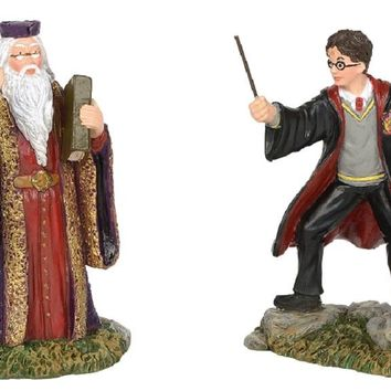 Department 56 Harry Potter's Harry And The Headmaster Figurine-6002314