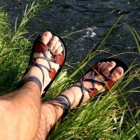 Gladiator Sandal by TreadLightGear on Etsy