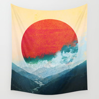 West Sun Wall Tapestry by Budi Satria Kwan