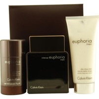 Calvin Klein Gift Set Euphoria Men Intense By Calvin Klein