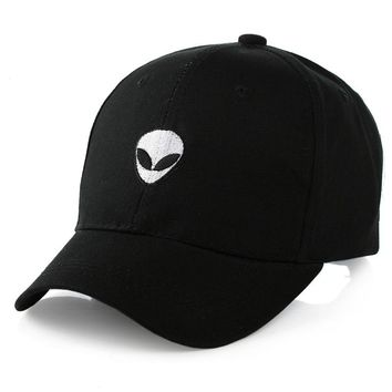 Unisex Alien head baseball cap
