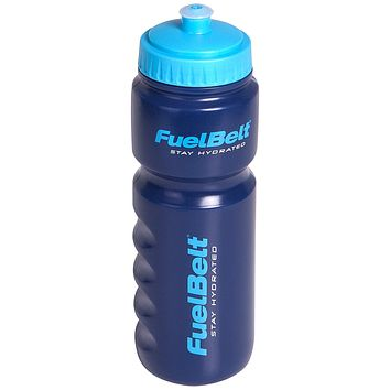 FuelBelt Endurance Bottle, Aubergine/New Blue, 24-Ounce