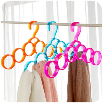 Colourful multifunction scarf hanger,creative scarf hangers = 1957992324