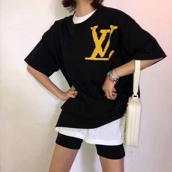Louis Vuitton LV Oversize Fashion Cotton Short sleeve t-shirt