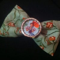 Haunted mansion inspired hair bow