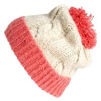 BP. Two-Tone Pompom Beanie (Juniors) | Nordstrom
