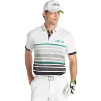 IZOD Skyscraper Engineer-Striped Performance Golf Polo