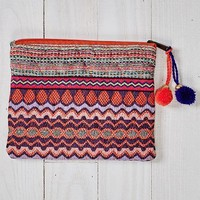 Multi Pattern Quilted Makeup Bag