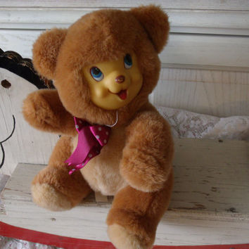 Sweet Bear with Rubber Face
