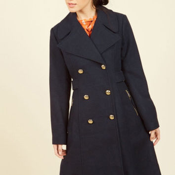 Classic Connection Coat | Mod Retro Vintage Coats | ModCloth.com