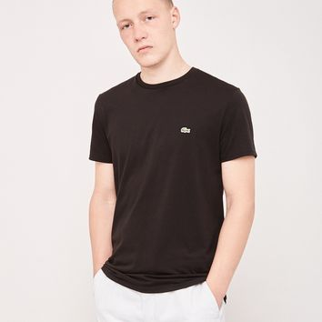 Lacoste Crew Neck T-Shirt Black