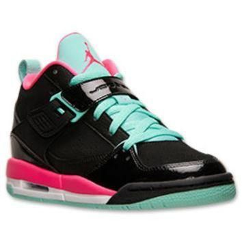 Girls' Grade School Jordan Flight 45 Basketball Shoes