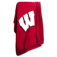 Wisconsin Badgers NCAA Classic Fleece Blanket