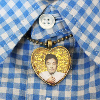 Jimmy Fallon Heart Necklace