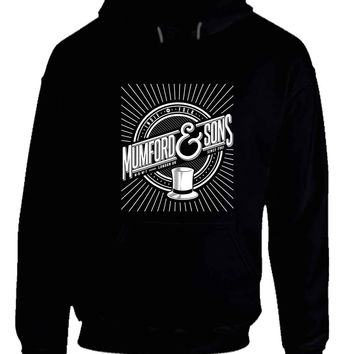 Mumford and Sons Logo Indie Folk London UK Hoodie