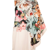 TAZZMYN - Tangled floral printed tunic - Ivory | Womens | Ted Baker UK