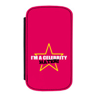 Celebrity Hater Premium Faux PU Leather Case for Samsung Galaxy S4 by Chargrilled