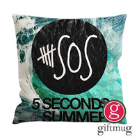 5sos 5 Seconds of Summer Logo Cushion Case / Pillow Case