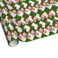 Holiday Lolly Wrapping Paper
