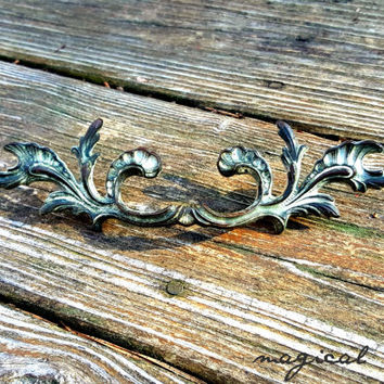 Antique Drawer Pulls KBC French Provincial Dresser Drawer Pulls & Knobs French Country Brass Drawer Pulls Shabby FarmHouse Drawer Pulls