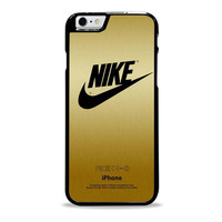 nike gold stelish texture Iphone 6 Plus Cases