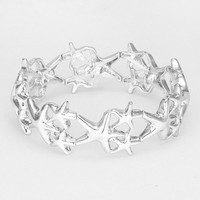 Shooting Starfish Stretch Bracelet