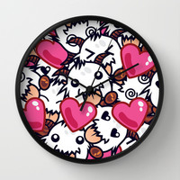 League of Legends Poro Party Wall Clock by SylvieW