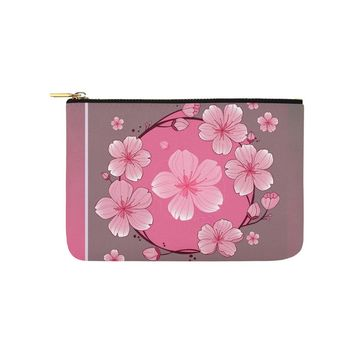 Cherry Blossom Carry-All Pouch 9.5''x 6''
